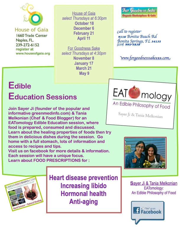 EATomology Edible Education Sessions
