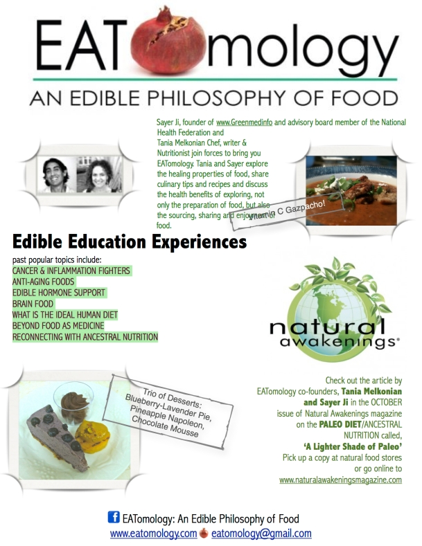 EDIBLE EDUCATION EXPERIENCES