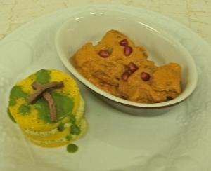 EATomology photo - polenta nap & eggplant muhammara