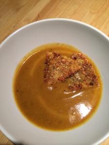 EATomology photo pumpkin soup