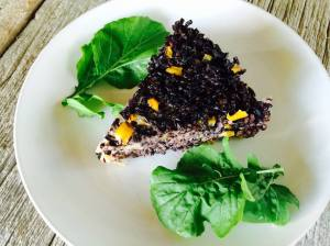 EATomology photo Black Rice Pie